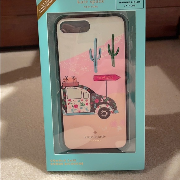 """Kate Spade iPhone 8+ case """"out of office"""""""